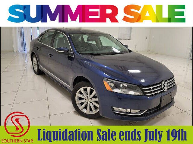 2013 Volkswagen Passat for sale at Southern Star Automotive, Inc. in Duluth GA
