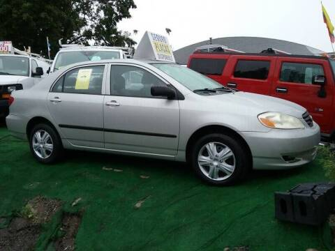 2004 Toyota Corolla for sale at Deleon Mich Auto Sales in Yonkers NY