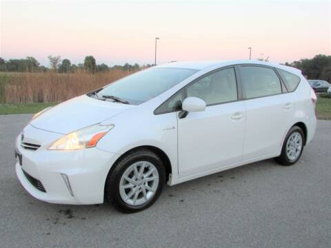 2012 Toyota Prius v for sale at 42 Automotive in Delaware OH