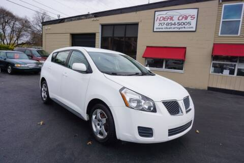 2009 Pontiac Vibe for sale at I-Deal Cars LLC in York PA