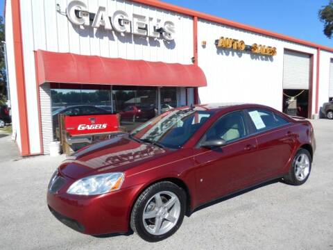 2009 Pontiac G6 for sale at Gagel's Auto Sales in Gibsonton FL