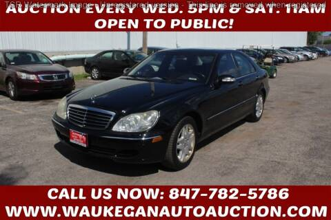 2006 Mercedes-Benz S-Class for sale at Waukegan Auto Auction in Waukegan IL