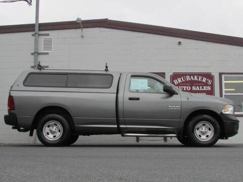 2013 RAM Ram Pickup 1500 for sale at Brubakers Auto Sales in Myerstown PA