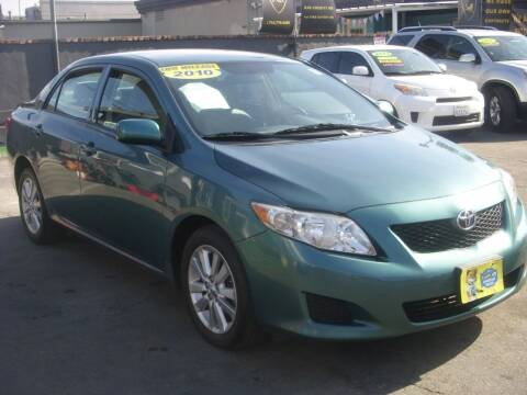 2010 Toyota Corolla for sale at Alliance Auto Group Inc in Fullerton CA