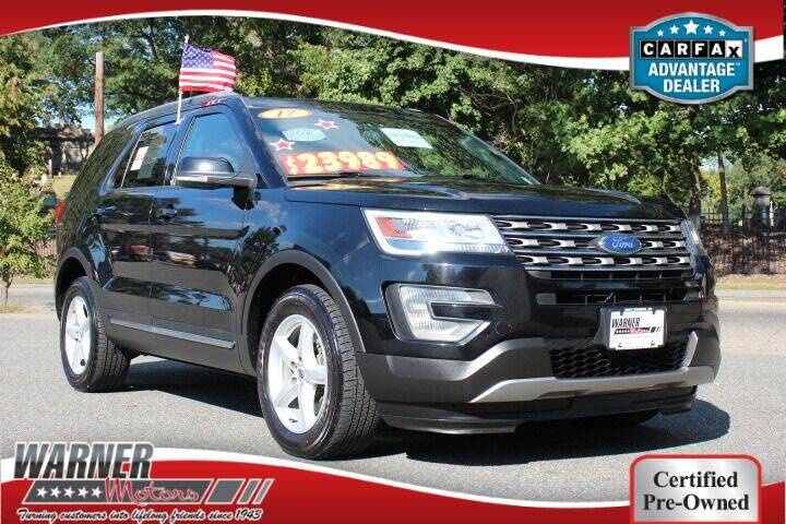 2017 Ford Explorer for sale at Warner Motors in East Orange NJ