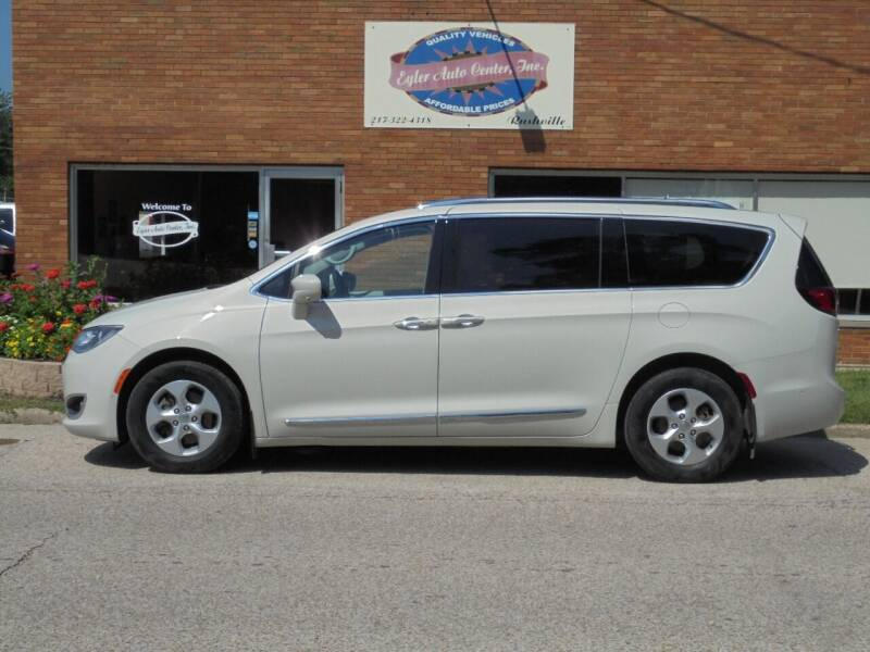 2017 Chrysler Pacifica for sale at Eyler Auto Center Inc. in Rushville IL