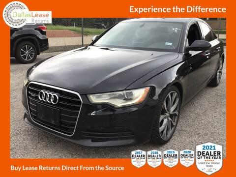 2015 Audi A6 for sale at Dallas Auto Finance in Dallas TX