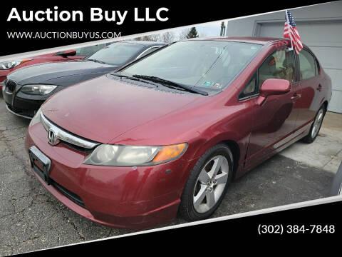 2008 Honda Civic for sale at Auction Buy LLC in Wilmington DE