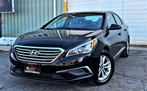 2016 Hyundai Sonata for sale at Haus of Imports in Lemont IL