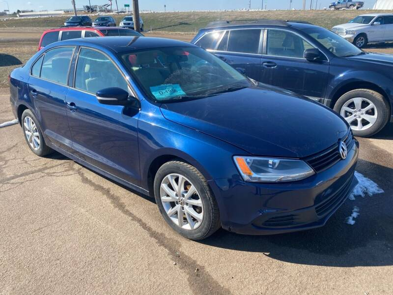 2012 Volkswagen Jetta for sale at BERG AUTO MALL & TRUCKING INC in Beresford SD