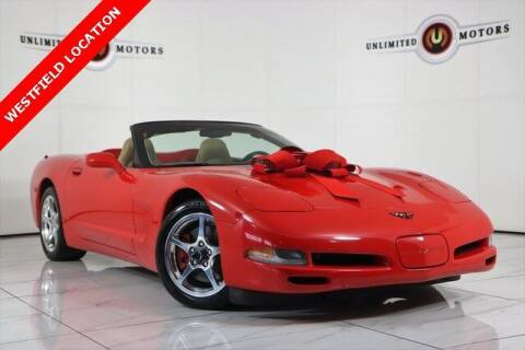 2000 Chevrolet Corvette for sale at INDY'S UNLIMITED MOTORS - UNLIMITED MOTORS in Westfield IN