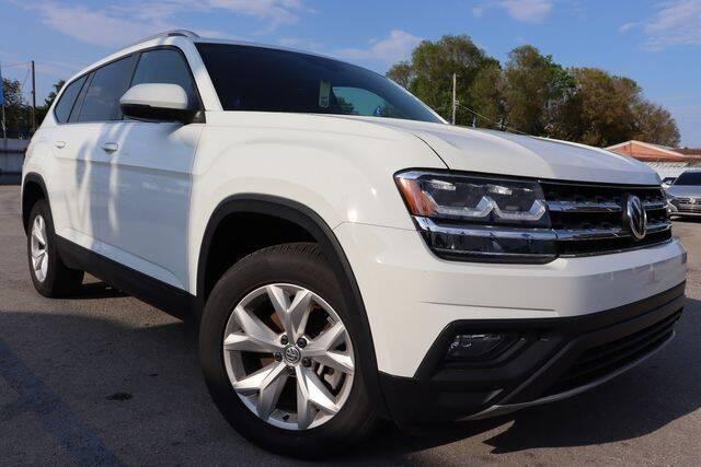 2019 Volkswagen Atlas for sale at OCEAN AUTO SALES in Miami FL