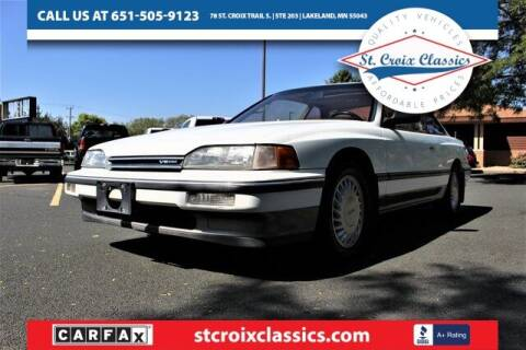 1988 Acura Legend for sale at St. Croix Classics in Lakeland MN