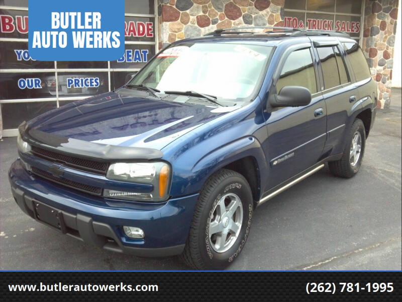 2004 Chevrolet TrailBlazer for sale at BUTLER AUTO WERKS in Butler WI