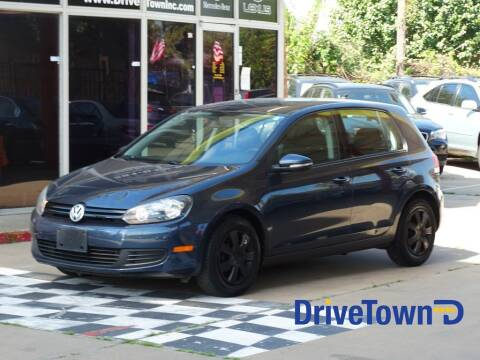 2012 Volkswagen Golf for sale at Drive Town in Houston TX