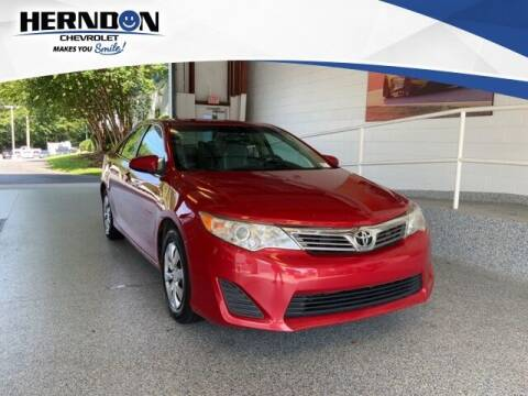 2012 Toyota Camry for sale at Herndon Chevrolet in Lexington SC