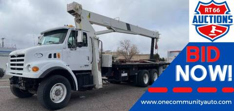 2000 Sterling Terex BT Crane Truck for sale at One Community Auto LLC in Albuquerque NM