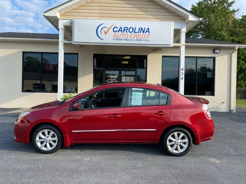 2012 Nissan Sentra for sale at Carolina Auto Credit in Youngsville NC