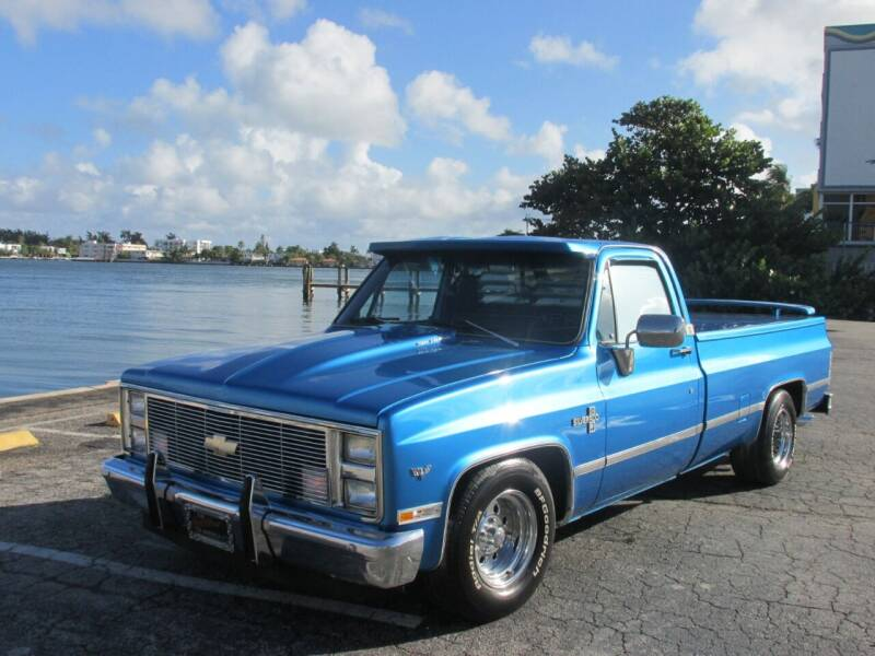 1984 Chevrolet C/K 10 Series for sale at TROPICAL MOTOR CARS INC in Miami FL