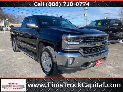 2016 Chevrolet Silverado 1500 for sale at TTC AUTO OUTLET/TIM'S TRUCK CAPITAL & AUTO SALES INC ANNEX in Epsom NH