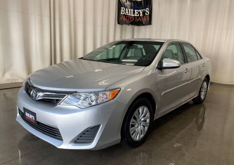 2013 Toyota Camry for sale at Bailey's Auto Sales in Fargo ND