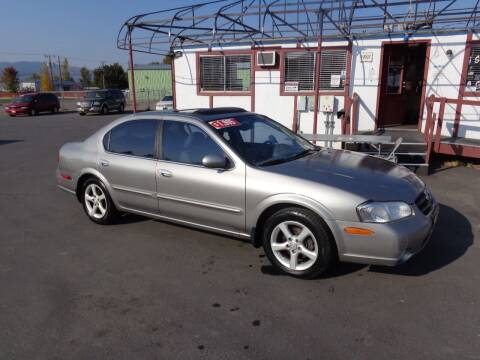 2001 Nissan Maxima for sale at Jim's Cars by Priced-Rite Auto Sales in Missoula MT