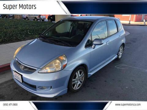 2008 Honda Fit for sale at Super Motors in San Mateo CA