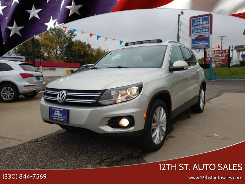 2012 Volkswagen Tiguan for sale at 12th St. Auto Sales in Canton OH