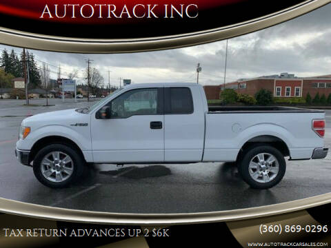 2011 Ford F-150 for sale at AUTOTRACK INC in Mount Vernon WA