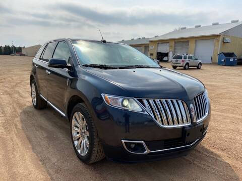 2013 Lincoln MKX for sale at RUS Auto LLC in Shakopee MN