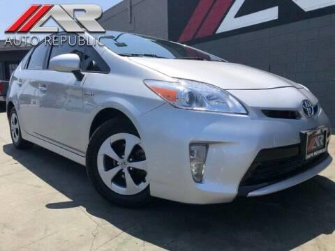 2015 Toyota Prius for sale at Auto Republic Fullerton in Fullerton CA