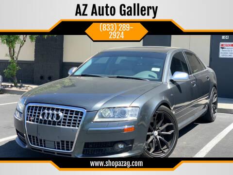 2007 Audi S8 for sale at AZ Auto Gallery in Mesa AZ