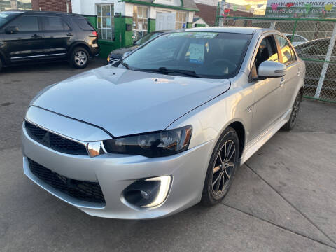 2017 Mitsubishi Lancer for sale at GO GREEN MOTORS in Denver CO