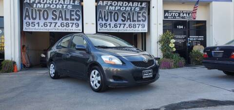 2010 Toyota Yaris for sale at Affordable Imports Auto Sales in Murrieta CA