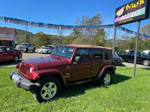 2009 Jeep Wrangler Unlimited for sale at Brush & Palette Auto in Candor NY