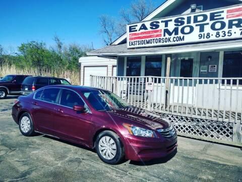 2012 Honda Accord for sale at EASTSIDE MOTORS in Tulsa OK