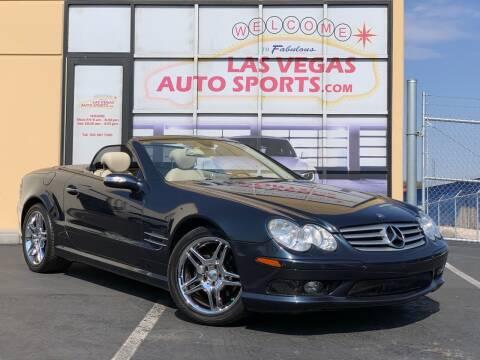 2006 Mercedes-Benz SL-Class for sale at Las Vegas Auto Sports in Las Vegas NV