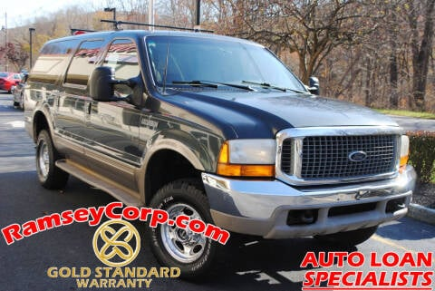 2000 Ford Excursion for sale at Ramsey Corp. in West Milford NJ