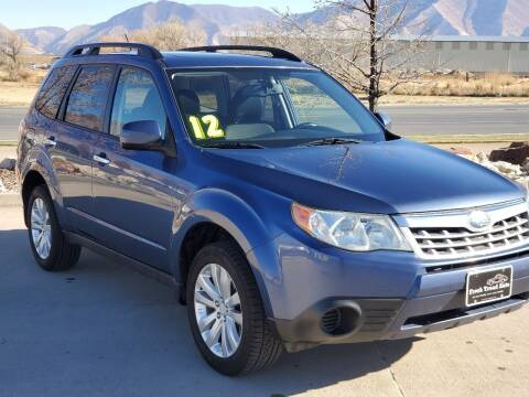 2012 Subaru Forester for sale at FRESH TREAD AUTO LLC in Springville UT