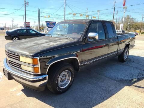 1991 Chevrolet C/K 1500 Series for sale at OTWELL ENTERPRISES AUTO & TRUCK SALES in Pasadena TX