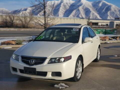 2005 Acura TSX for sale at FRESH TREAD AUTO LLC in Springville UT