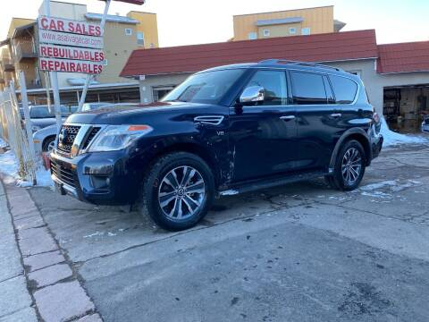 2019 Nissan Armada for sale at STS Automotive in Denver CO