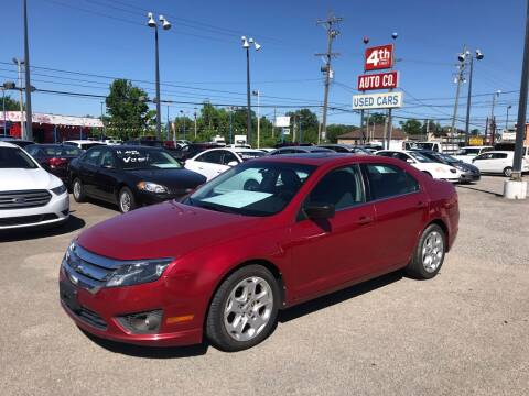 2010 Ford Fusion for sale at 4th Street Auto in Louisville KY
