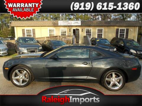 2013 Chevrolet Camaro for sale at Raleigh Imports in Raleigh NC