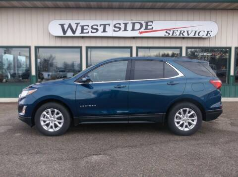2020 Chevrolet Equinox for sale at West Side Service in Auburndale WI