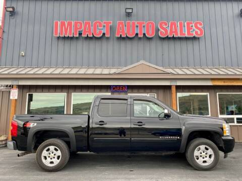 2008 Chevrolet Silverado 1500 for sale at Impact Auto Sales in Wenatchee WA