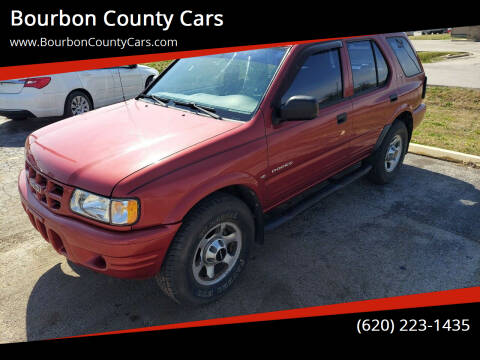 2000 Isuzu Rodeo for sale at Bourbon County Cars in Fort Scott KS