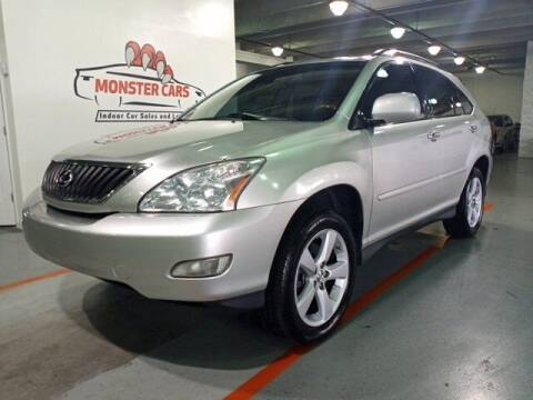 2008 Lexus RX 350 for sale at Monster Cars in Pompano Beach FL