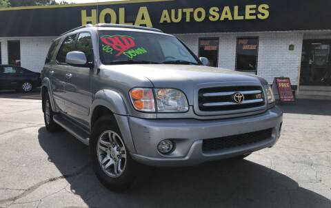 2003 Toyota Sequoia for sale at HOLA AUTO SALES CHAMBLEE- BUY HERE PAY HERE - in Atlanta GA