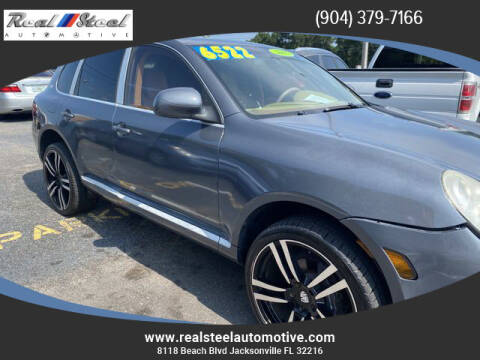 2005 Porsche Cayenne for sale at Real Steel Automotive in Jacksonville FL